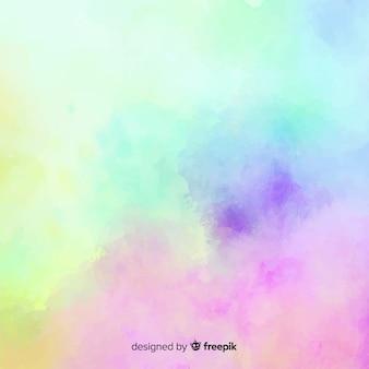Fundo gradiente aquarela mancha