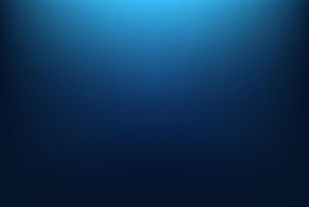 Fundo gradiente azul abstrato. ilustração vetorial