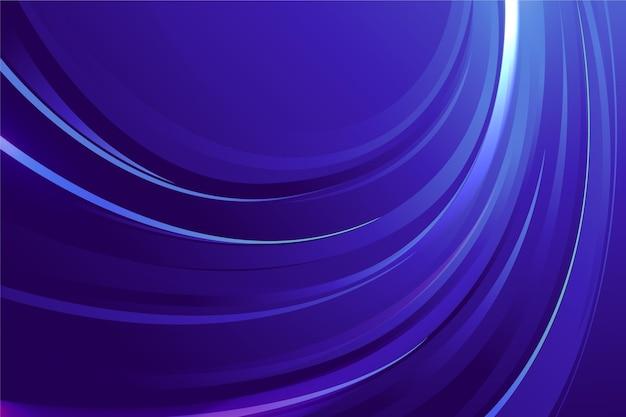 Fundo gradiente azul ondulado