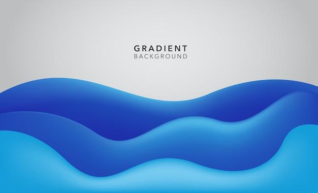 Fundo gradiente branco azulado