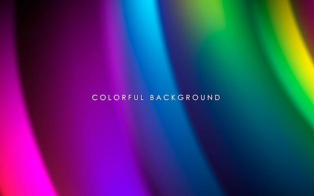 Fundo gradiente colorido abstrato cor suave