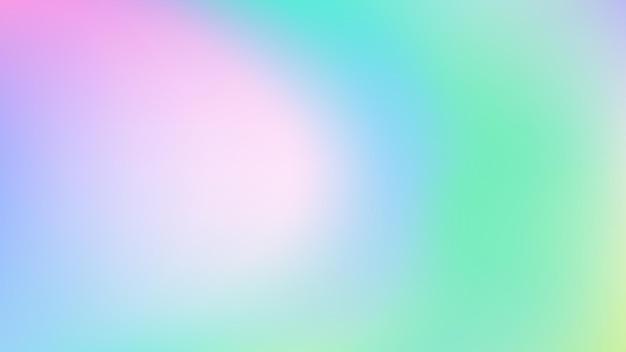 Fundo gradiente colorido desfocado abstrato