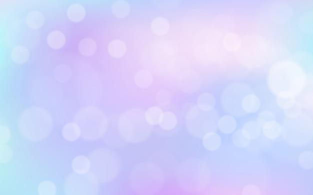 Fundo gradiente colorido suave com efeito bokeh