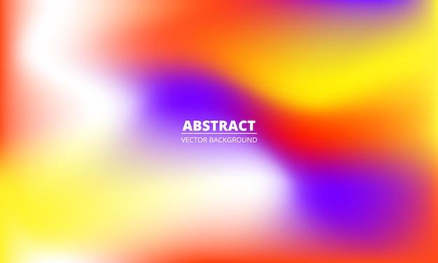 Fundo gradiente de arco-íris colorido líquido abstrato