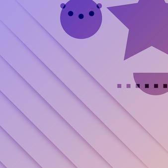 Fundo gradiente de gradiente de quartzo rosa violeta de tecnologia abstrata