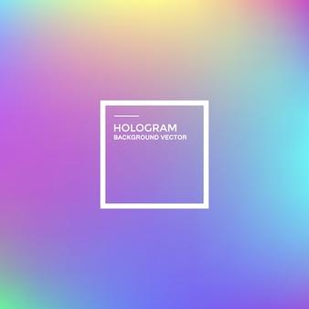 Fundo gradiente de holograma