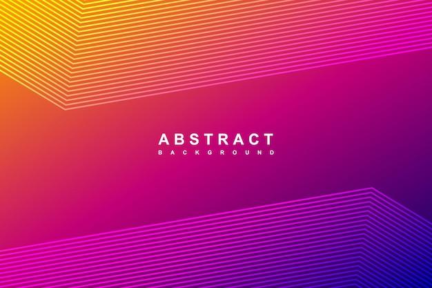 Fundo gradiente de linhas diagonais abstratas
