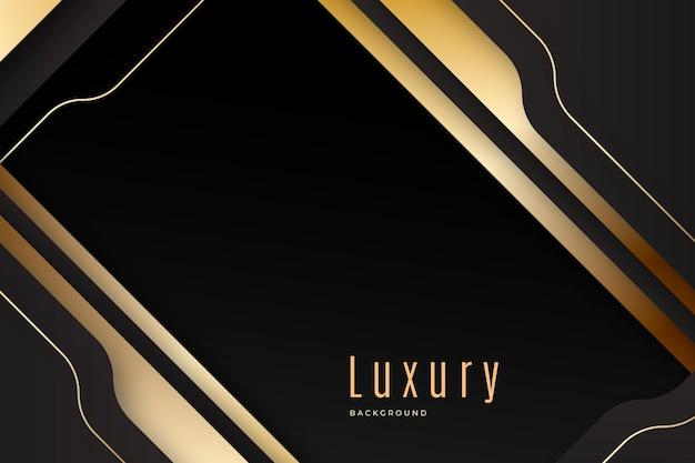 Fundo gradiente de luxo