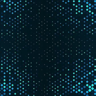 Fundo gradiente de meio-tom com pontos fundo com círculos azuis em tamanhos diferentes