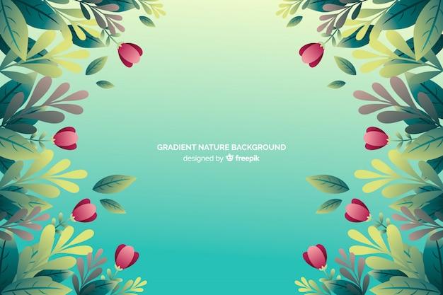 Fundo gradiente de natureza