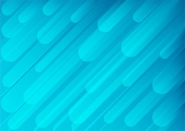 Fundo gradiente geométrico abstrato. forma azul. estilo moderno.