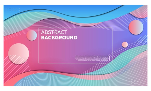 Fundo gradiente geométrico abstrato geométrico com linhas