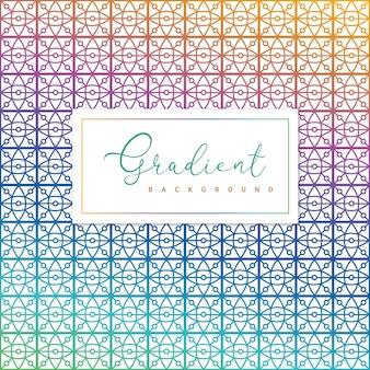 Fundo gradiente geométrico abstrato