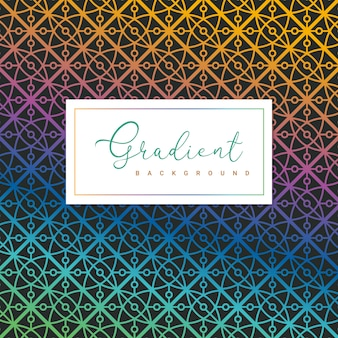 Fundo gradiente geométrico