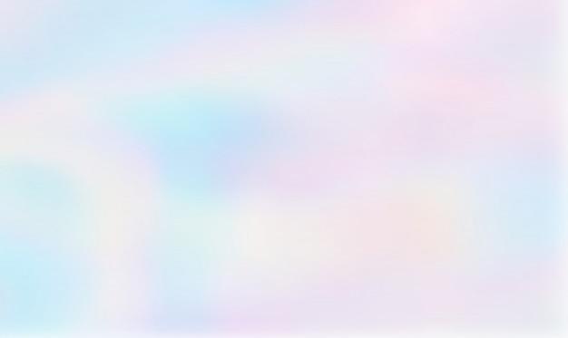 Fundo gradiente holográfico abstrata