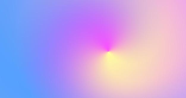 Fundo gradiente holográfico brilhante. pano de fundo abstrato iridescente embaçado. abstração colorida moderna.