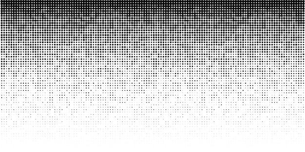 Fundo gradiente horizontal de meio-tom. vetor