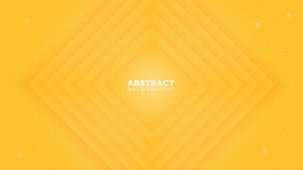 Fundo gradiente laranja abstrato. com sobreposição de camada forma ondulada.