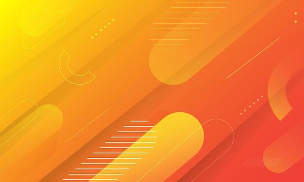 Fundo gradiente laranja abstrato