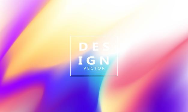Fundo gradiente líquido colorido abstrato conceito de ecologia para seu design gráfico,