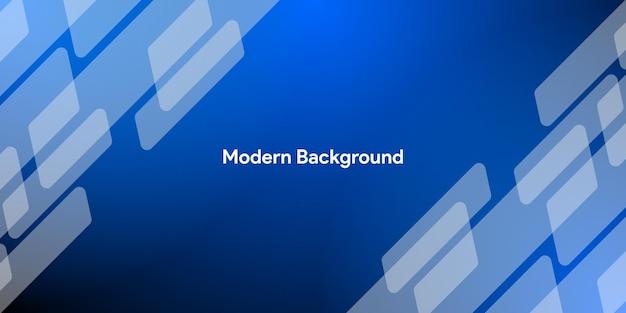 Fundo gradiente moderno abstrato azul