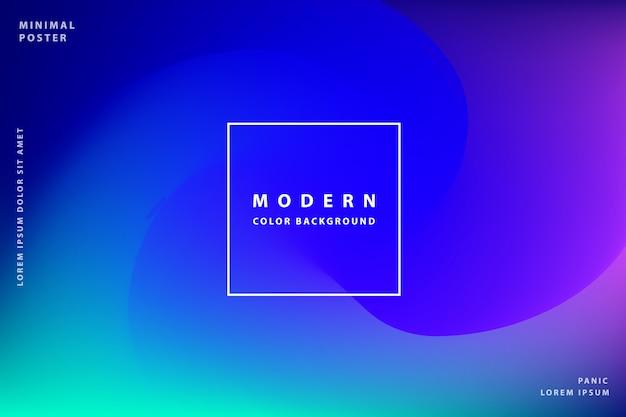 Fundo gradiente moderno com estilo colorido