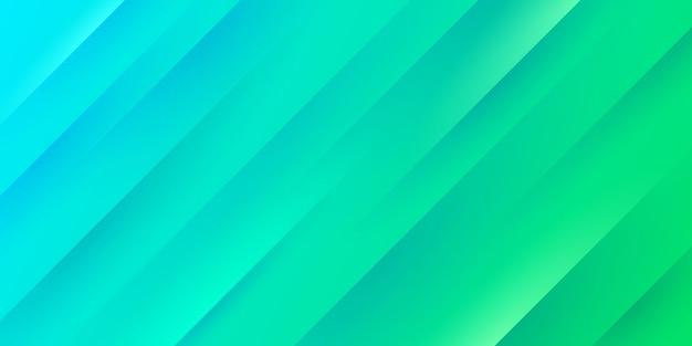 Fundo gradiente moderno de azul e verde claro com textura e linhas de listras diagonais.