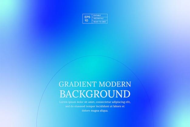 Fundo gradiente moderno