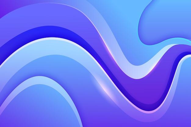 Fundo gradiente ondulado