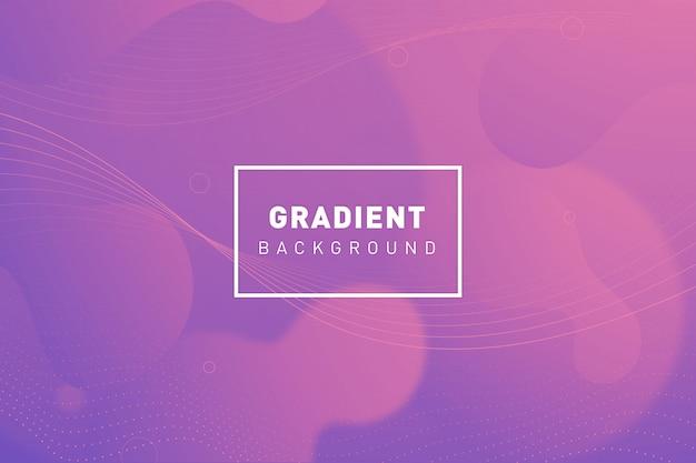 Fundo gradiente orgânico