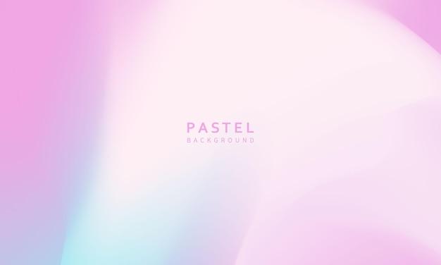 Fundo gradiente pastel abstrato