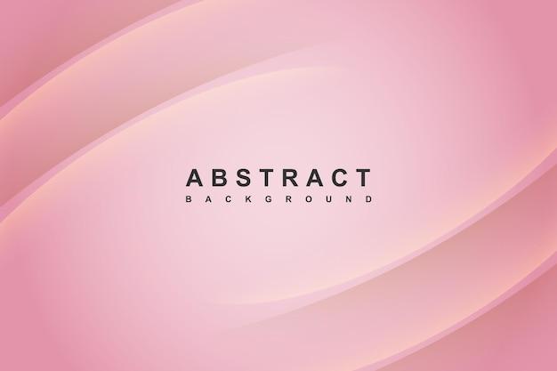Fundo gradiente rosa moderno abstrato com decoração de sombra ondulada
