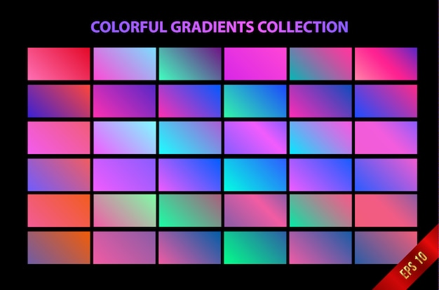 Fundo gradiente suave colorido