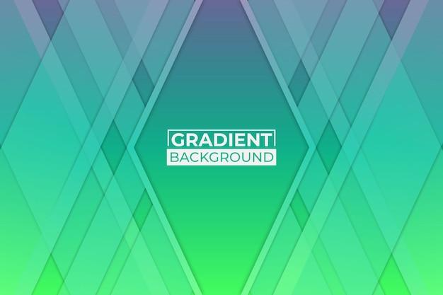 Fundo gradiente verde e roxo