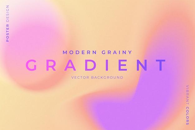 Fundo granulado moderno com cores vibrantes Vetor grátis