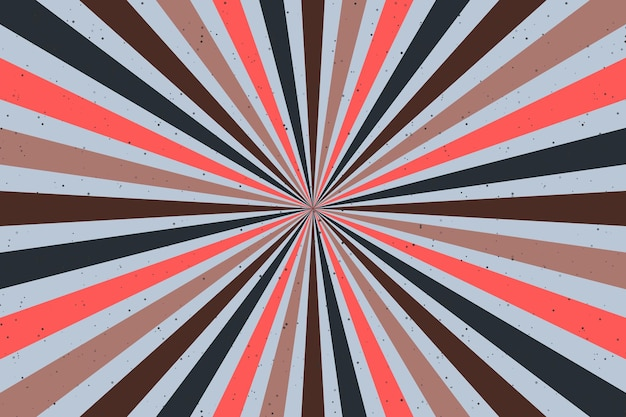 Fundo groovy psicodélico abstrato. ilustração vetorial.