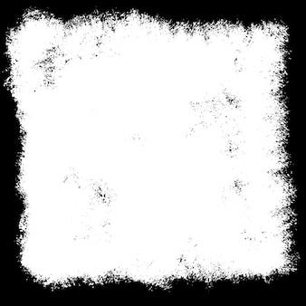 Fundo grunge emoldurado em preto e branco