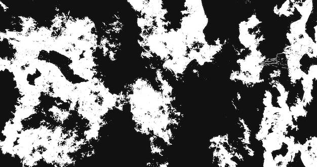 Fundo grunge preto e branco. textura monocromática. padrão de vetor de pedra, lascas, arranhões, neve, montanhas. superfície vintage abstrata