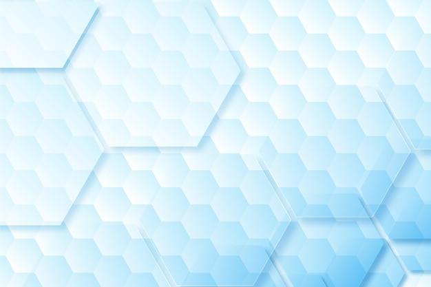 Fundo hexagonal gradiente