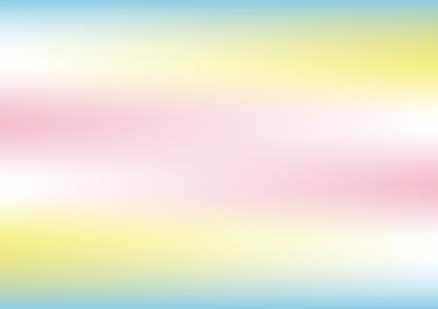 Fundo holográfico abstrato com cores pastel