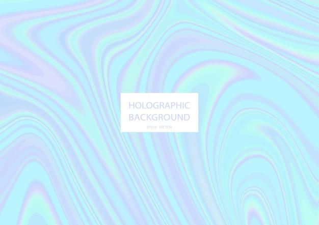 Fundo holográfico abstrato com cores pastel.