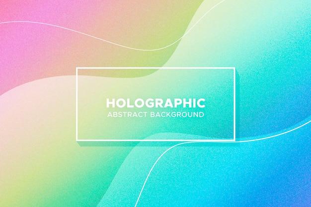 Fundo holográfico abstrato