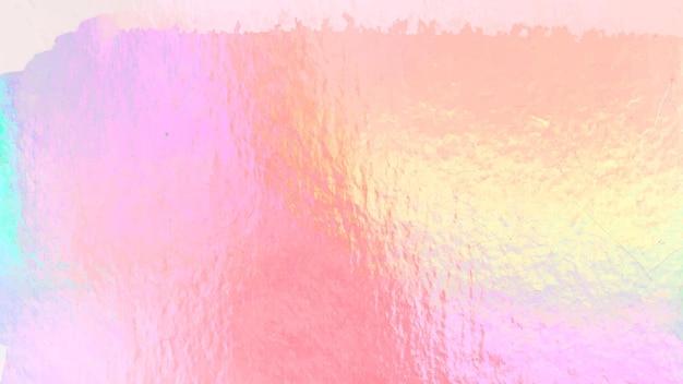 Fundo holográfico colorido de vetor