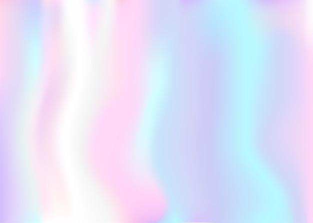 Fundo holográfico iridescente