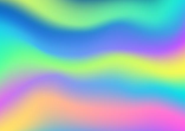 Fundo holográfico