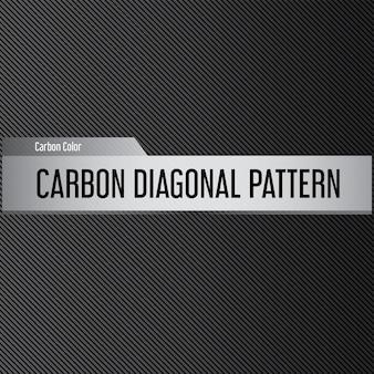 Fundo horizontal escuro com listras diagonais. padrão diagonal de carbono.