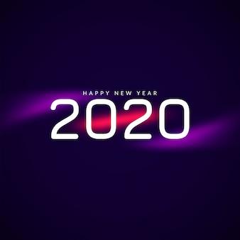 Fundo impressionante do ano novo 2020
