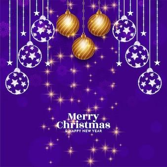 Fundo incrível e elegante do feliz natal
