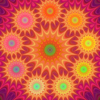 Fundo incrível hippie