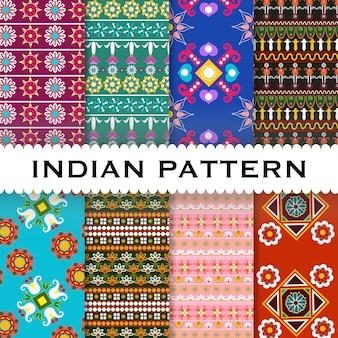 Fundo indiano padrão